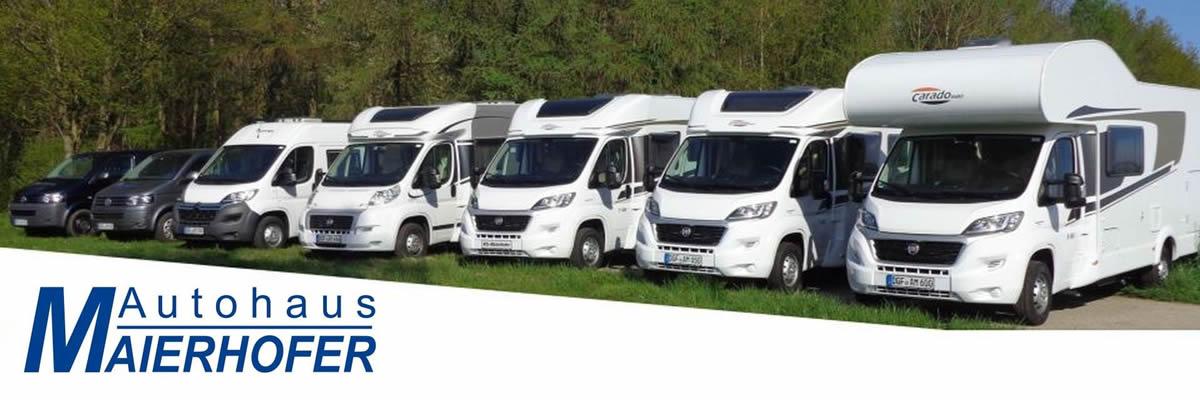 Autohaus Maierhofer - Wohnwagenhändler Marklkofen: Wohnmobile