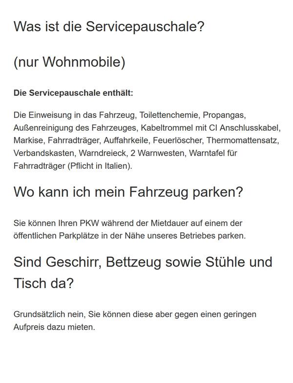 Wohnwagen mieten für 84137 Vilsbiburg